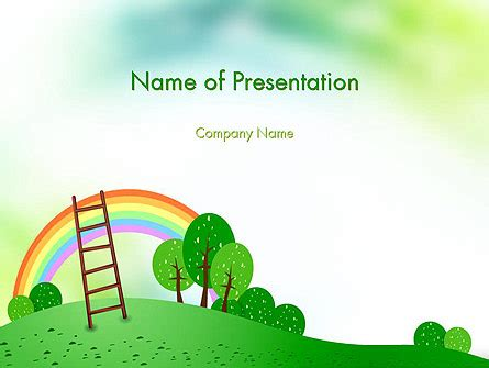 Powerpoint Design Kindergarten | kindergarten theme presentation template for powerpoint
