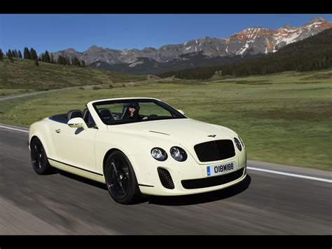 bentley front 2010 bentley continental supersports convertible related
