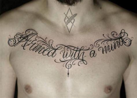 chest lettering tattoo quotes dicas tatuagens de escrita quotes