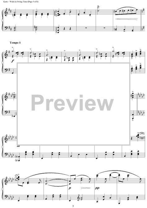waltz in swing time waltz in swing time sheet music music for piano and more