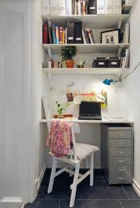 57 Cool Small Home Office Ideas Digsdigs Small Space Living Ideas Kitchen