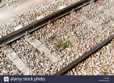 Sleepers Of Railway Track by Railway Track Tracks Line Lines Rail Rails Trains