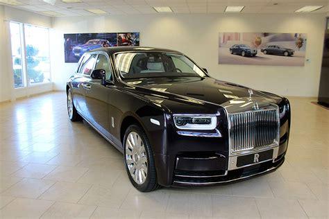 rolls royce motor cars bellevue showcases phantom viii
