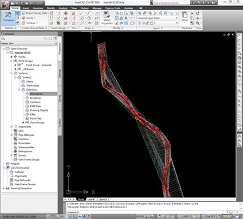 jual tutorial autocad civil 3d tutorial autocad civil 3d membuat surface dengan data