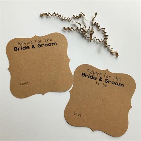 Wedding Advice For Groom by Advice Cards Advice Cards For The Groom Wedding