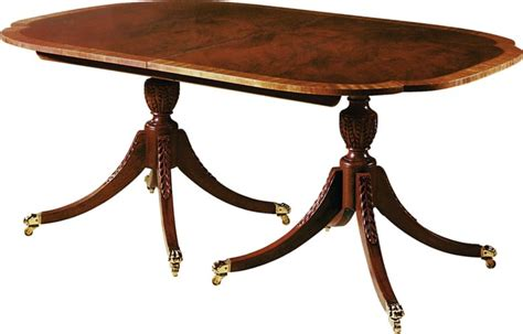 baker dining table dining table by historic charleston 2539 baker furniture