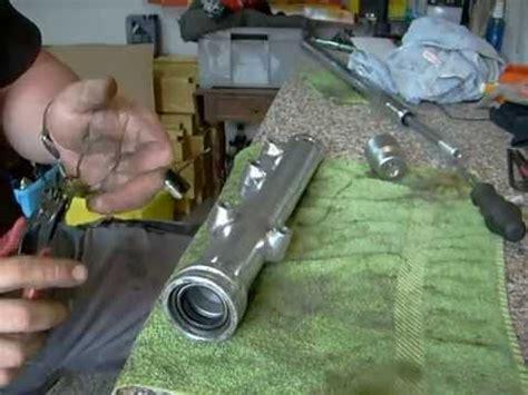 Motorrad Gabel Zerlegen Anleitung by Kawasaki Ltd 440 Gabelsimmerringe Wechseln Youtube