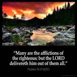 psalms 34 19 inspirational image