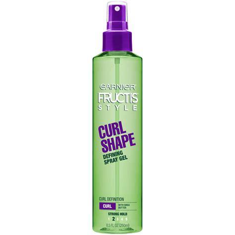 Garnier Fructis Hair Style Gel Twist by Garnier Strong Hold Curl Shaping Spray Gel 8 5 Fl Oz Spray