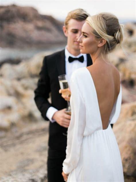 simple wedding photos la robe de mari 233 e simple et 233 l 233 gante 70 photos pour