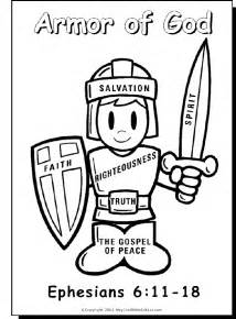 god coloring pages armor of god on bible coloring pages children