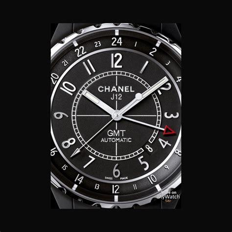 Chanel Mate chanel j12 gmt mate j12 h3101 matt black