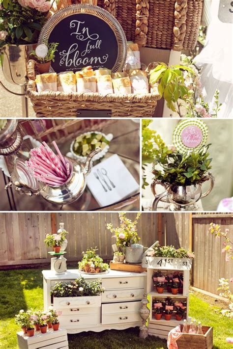 Garden Baby Shower Decorations by 25 Best Ideas About Garden Baby Showers On