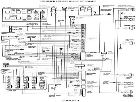 1995 buick lesabre wiring schematics 1995 buick lesabre
