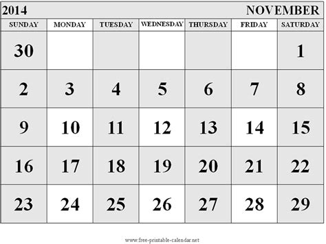 printable monthly calendar november and december 2014 november december calendar 2014 new calendar template site