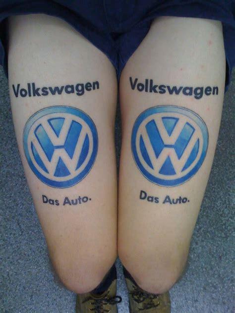 tattoo vw logo das auto logo vw tattoos das vw tattoos pinterest