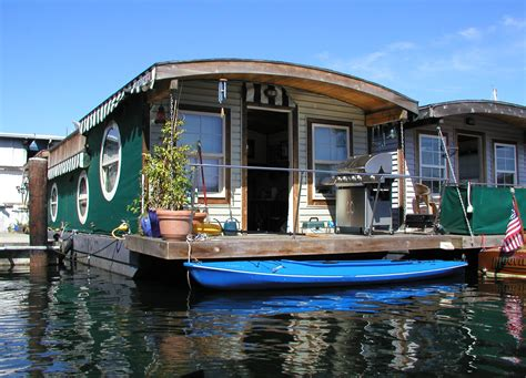 types of houseboats file lakeunionhouseboat jpg wikipedia