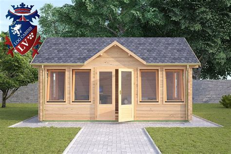 the new langham clock house log cabin 5 5m x 4 0m