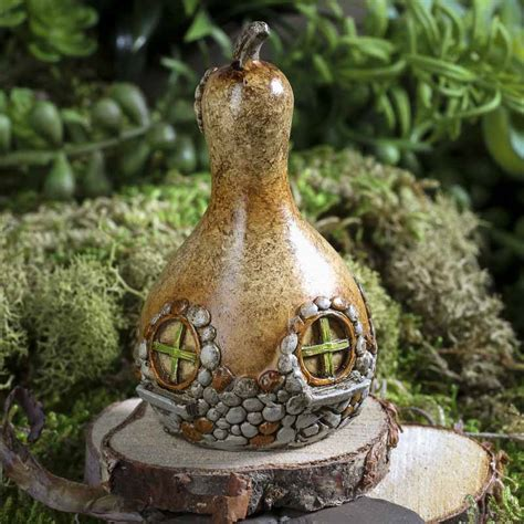 pear home decor micro mini resin pear house table and shelf sitters