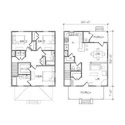 Square House Floor Plans by Four Square Ii Prairie Floor Plan Tightlines Designs