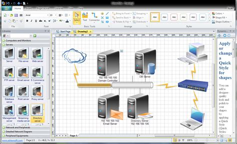 replacement for visio review is edraw a solid diagramming replacement for visio