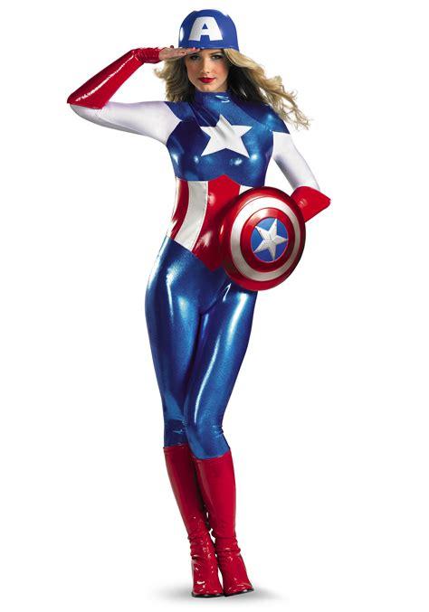 Costum Captain America american bodysuit costume