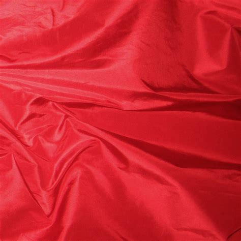 Color Shade by Crimson Silk Taffeta Renaissance Fabrics
