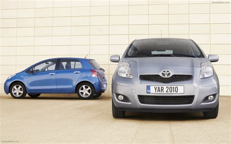 2010 Toyota Yaris Fuel Economy Toyota Yaris 2010 Widescreen Car Picture 13 Of 28
