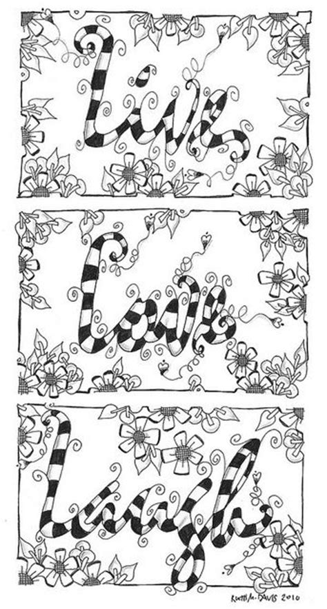 coloring pages live love laugh free love live laugh coloring pages