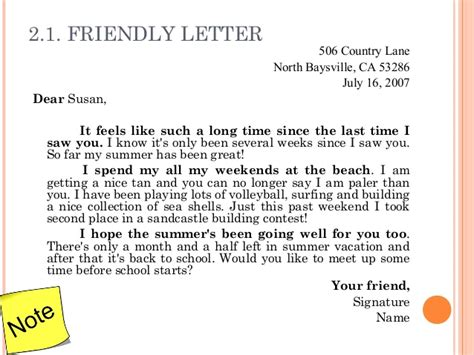 letter to friend after up 3 letter writing