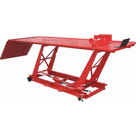 harbor freight motorcycle lift table motorcycle lift table 1000 lb capacity