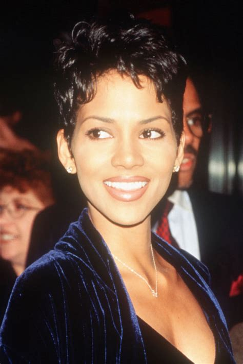 pixie and short crops 1980s 1990s hair styles short pixie cuts from the 1990s halle berry pixie