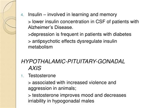 insulin side effects mood swings predisposing and precipitating factors to mental illness