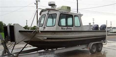 used scully aluminum boats for sale scullys boats