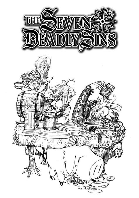 Seven Deadly Sins 6 10 Nakaba Suzuki the seven deadly sins 160 by nakaba suzuki these seven deadly sins chapter nanatsu no
