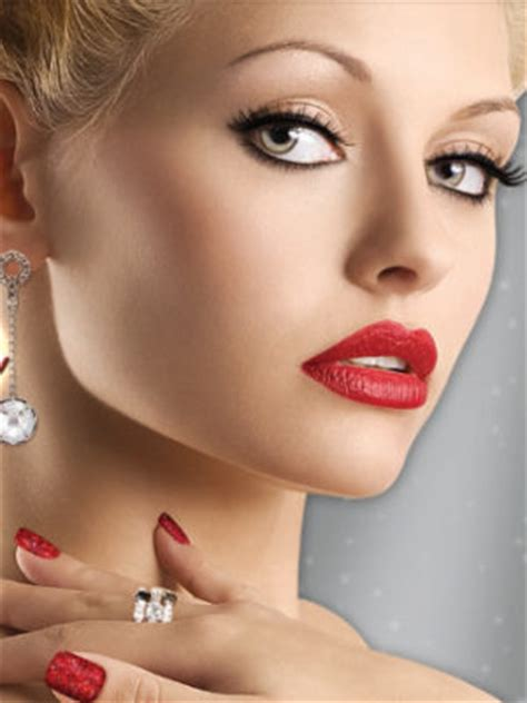 glamour christmas makeup ideas