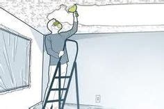 How To Remove Popcorn Ceiling Without Water by Removing Popcorn Ceiling On Popcorn Ceiling