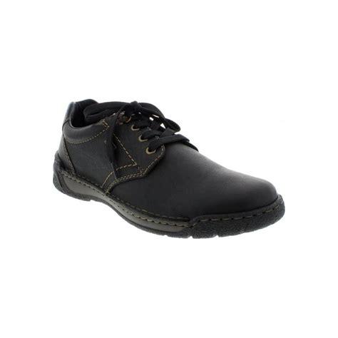 rieker b0300 00 mens black lace up shoes rieker mens