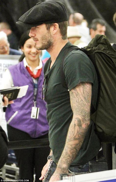 T Shirt David Beckham 32 david beckham dresses as he departs miami after
