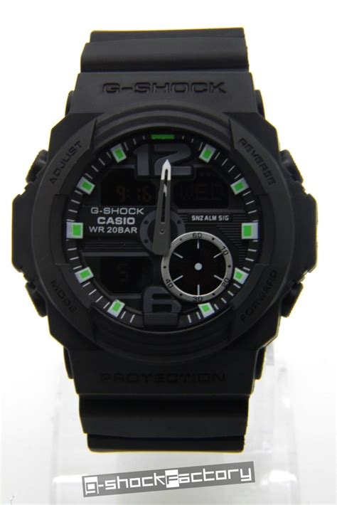 G Shock Ga310 g shock ga 310 matte black green by www g
