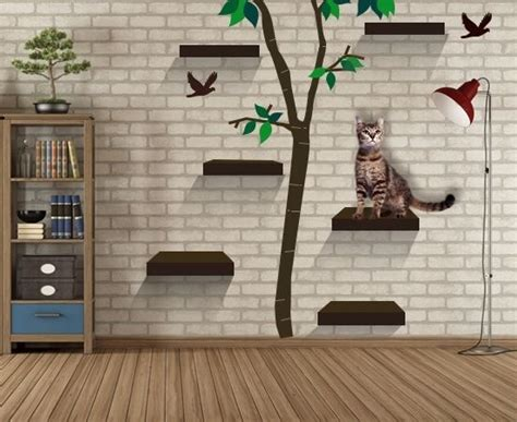 Cat Shelf Ideas by Try These 8 Cool Ideas To Build Wall Shelves For Cats