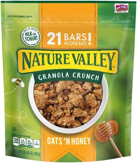 Honey Crunch Cf 220g nature valley oats n honey granola crunch hy vee aisles grocery shopping