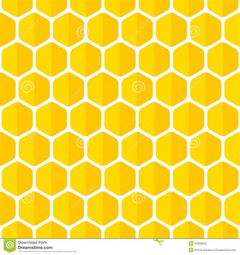 honeycomb seamless pattern royalty free vector image beautiful honeycomb seamless background stock vector image 53909054