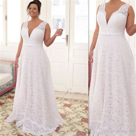 Discount Plus Size Wedding Dresses by Discount Plus Size Wedding Dresses 2017 White Lace