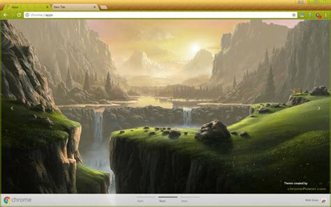 chrome themes landscape beautiful landscape chrome theme chromeposta