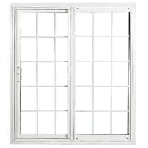white patio doors shop reliabilt 332 series 70 75 in grilles between the