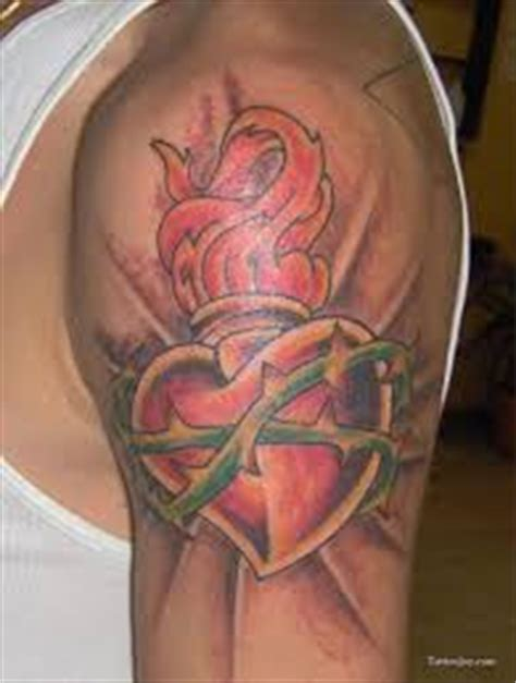 sacred heart tattoo meaning sacred meaning ideas designs chest back