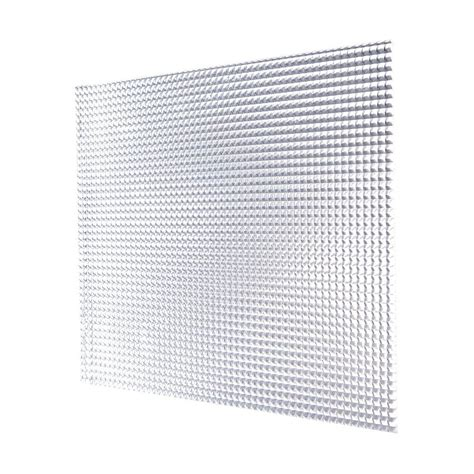 Lighting Panels by 2 Ft X 2 Ft Acrylic White Prismatic Lighting Panel 5