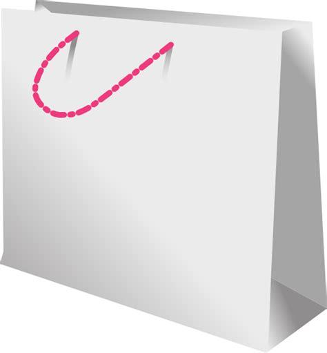 Shopping Bag Handle shopping bag pink handle clip at clker vector