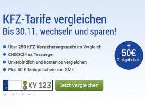 Kfz Versicherung Vergleich Gmx by Bis Zu 50 Euro Tankgutschein F 252 R Den Versicherungswechsel